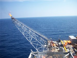 offshore flare system